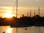 Boothbay Harbor Sunset