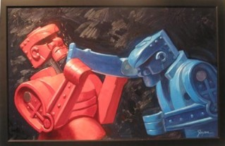 Robot Painting by Eric Joyner
