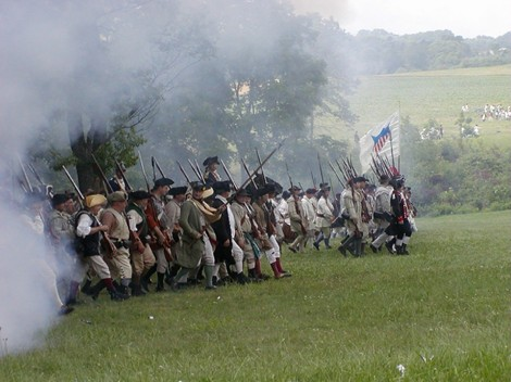 Heard's Brigade at Re-enactment of the Battle of Monmouth