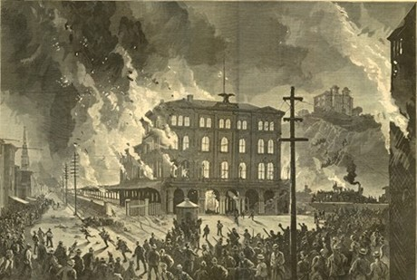 Baltimore Rail Strike Riot 1877