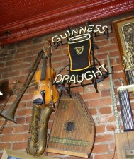 Irish decor at Yesterdays in Warwick, New York