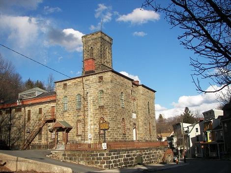 The Old Jail Museum in Jim Thorpe, PA. The site of the 1877 Molly Maguire Executions.