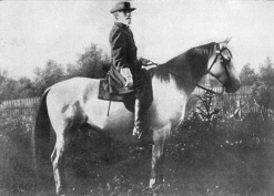General Robert E. Lee mounted on Traveller - 1866