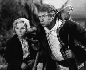 Wallace Beery & Jackie Cooper in Treasure Island